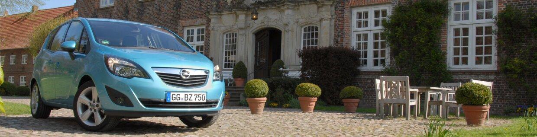 autozine - technische daten opel meriva 1.4 turbo selection