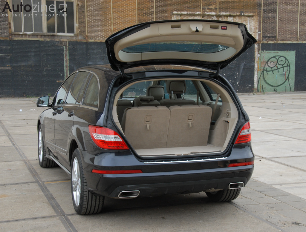 Autozine Bildergalerie Mercedes Benz R Klasse 5 10