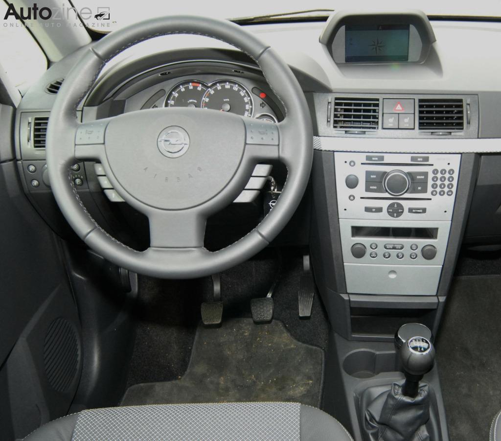 Autozine - Bildergalerie: Opel Meriva (2003 - 2010) (8 / 9)